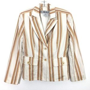 Carlisle Striped Blazer